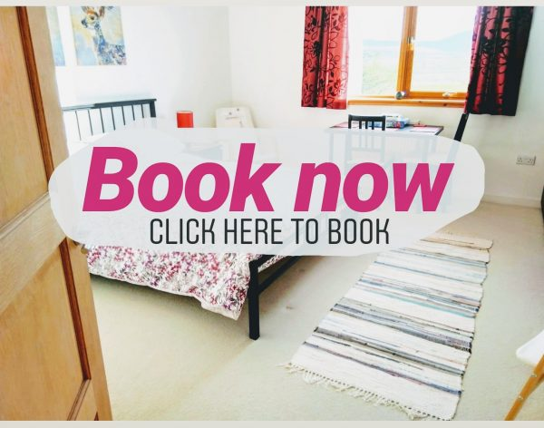 Staffin B&B Tigh-Na-Mara large bedroom ensuite book now